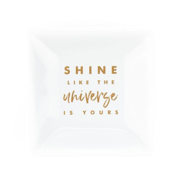 Shine Like The Universe Trinket Tray